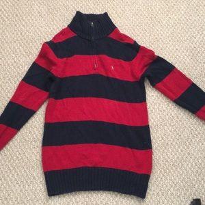 Polo turtleneck sweater